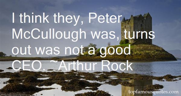 Quotes About Mccullough