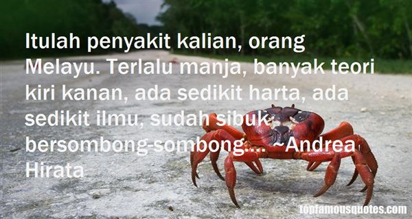 Quotes About Melayu