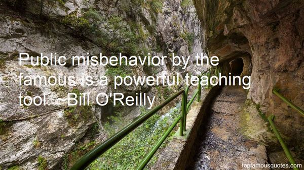 Quotes About Misbehavior