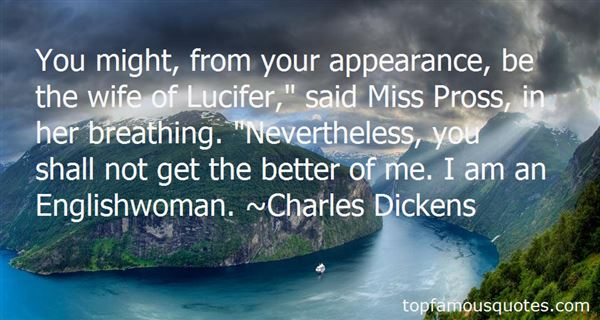 Quotes About Miss Pross
