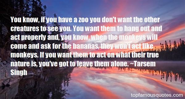Quotes About Monkeys And Bananas