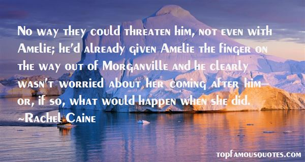 Quotes About Morganville