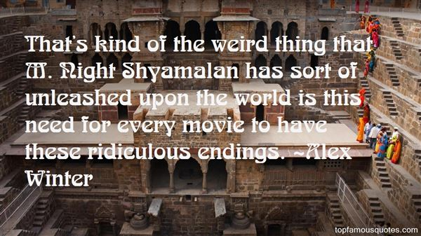 Quotes About Movie Endings
