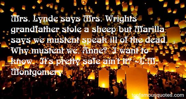 Quotes About Mr Wright