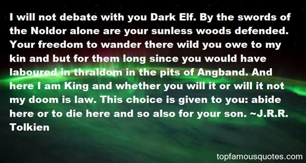 Quotes About Noldor