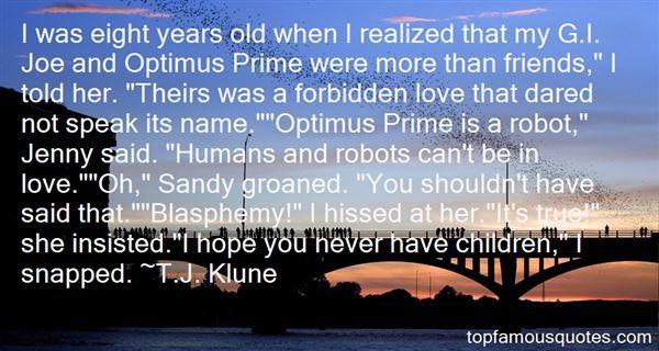Quotes About Optimus Prime