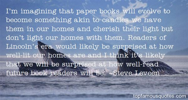 Quotes About Paper Books