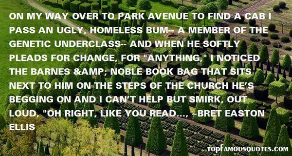 Quotes About Park Avenue