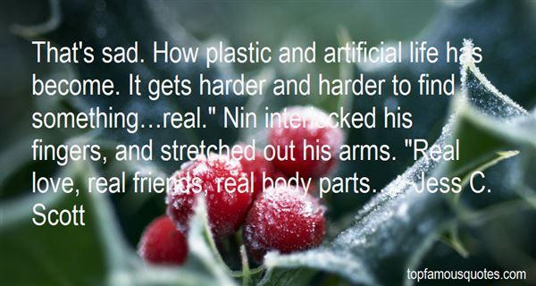 Quotes About Plastic Friend