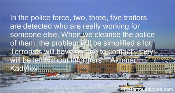 Quotes About Police Work