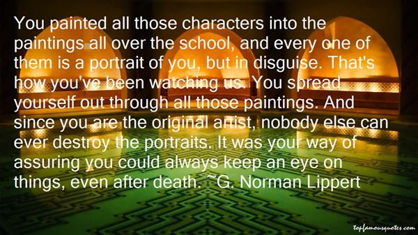 Quotes About Portrait Paintings