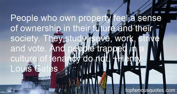Quotes About Property Ownership