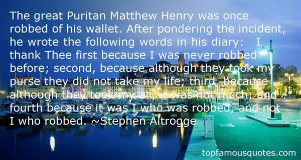 Quotes About Puritan Life