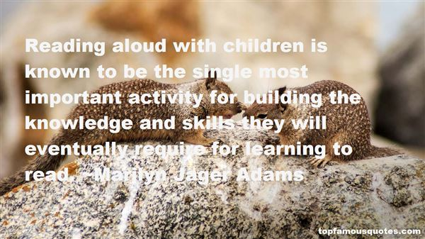 Quotes About Reading Aloud