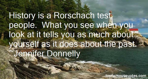 Quotes About Rorschach Test