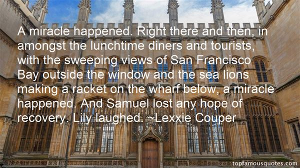 Quotes About San Francisco Bay