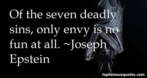 Quotes About Seven Deadly Sins