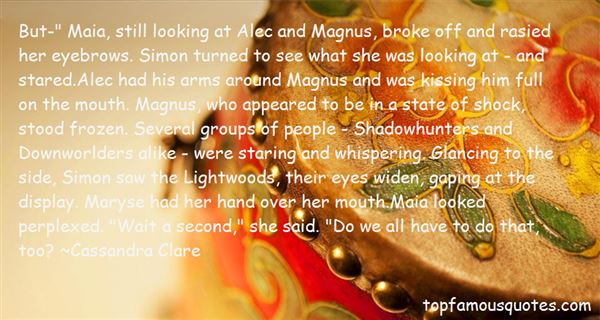 Quotes About Shadowhunters