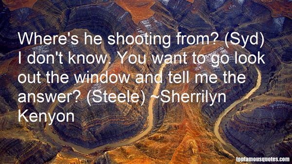 Quotes About Shooting