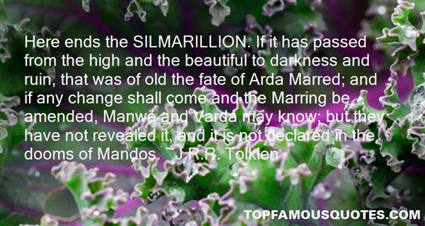 Quotes About Silmarillion