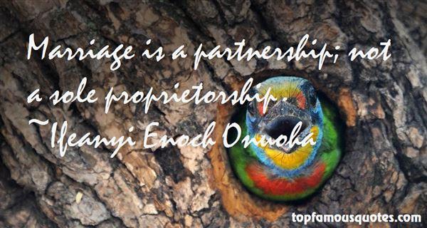 Quotes About Sole Proprietorship