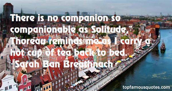 Quotes About Solitude Thoreau
