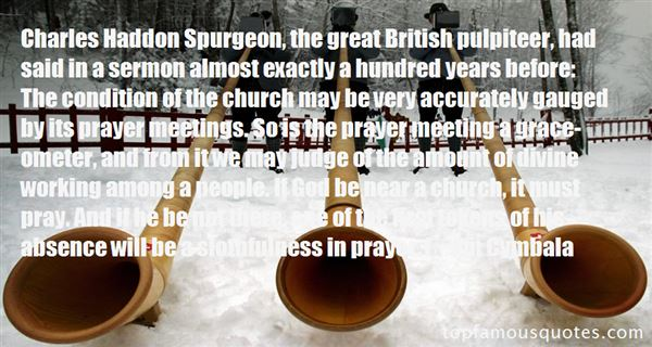 Quotes About Spurgeon Grace