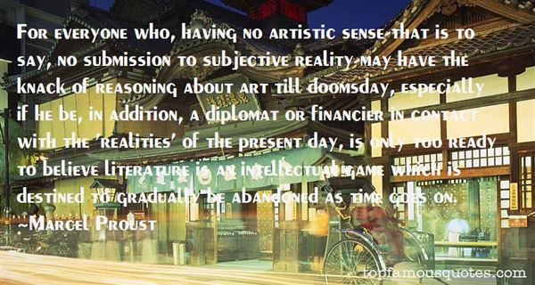 Quotes About Subjective Reality