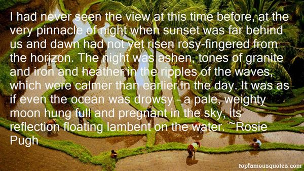 Quotes About Sunset On The Water