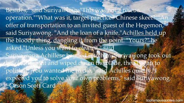 Quotes About Suriyawong
