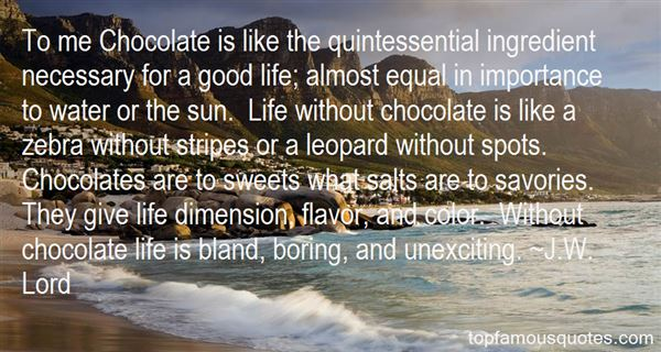 Quotes About Sweets And Chocolate