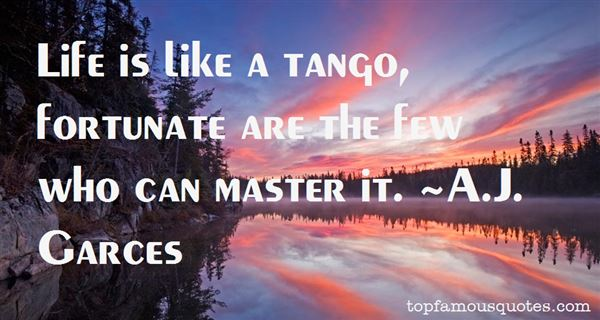 Quotes About Tango