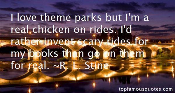 Quotes About Theme Park Rides