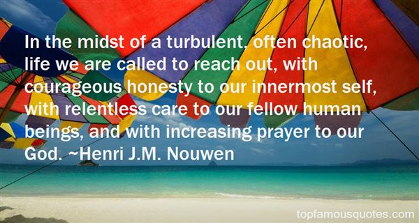 Quotes About Turbulent