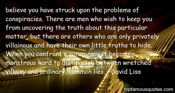 Quotes About Uncovering The Truth