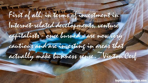 Quotes About Venture Capitalists