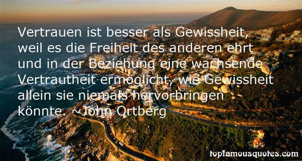 Quotes About Vertrauen