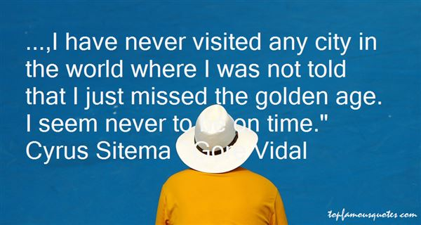Quotes About Visited