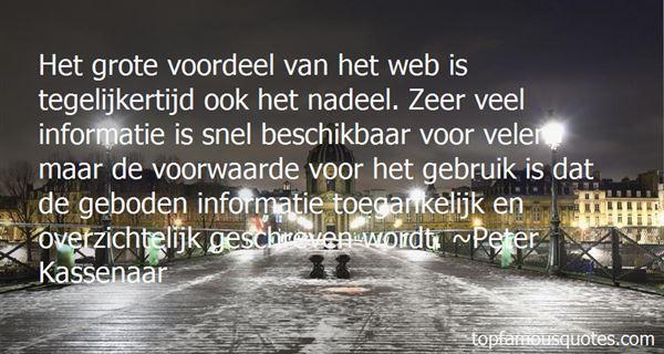 Quotes About Voordeel
