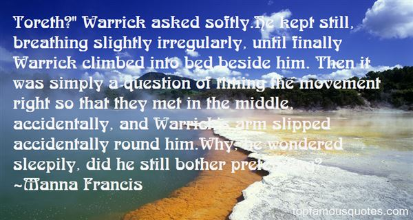 Quotes About Warrick