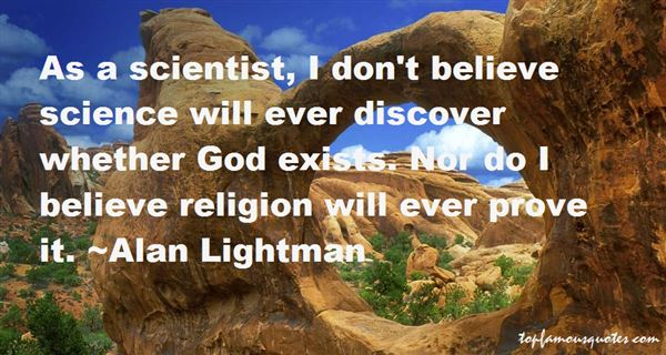 Quotes About Whether God Exists