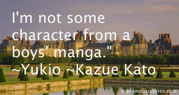 Quotes About Yukio