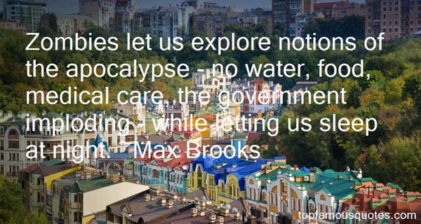 Quotes About Zombies Apocalypse