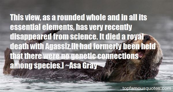 Quotes About Agassiz