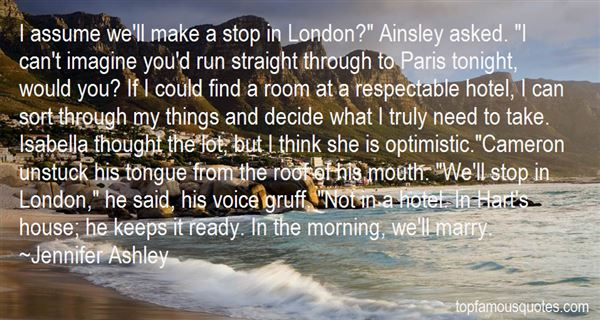 Quotes About Ainsley