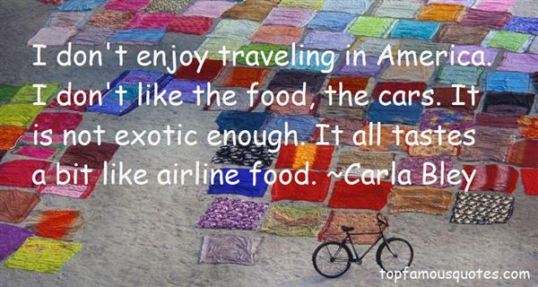 Quotes About Airline Food