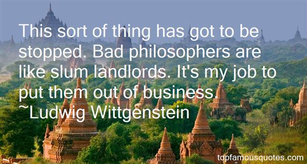Quotes About Bad Landlords