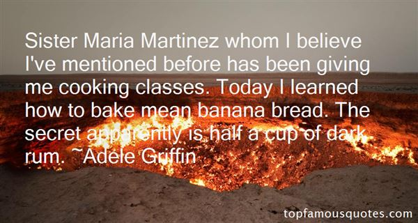 Quotes About Banana Bread