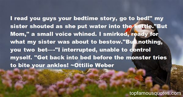Quotes About Bedtime