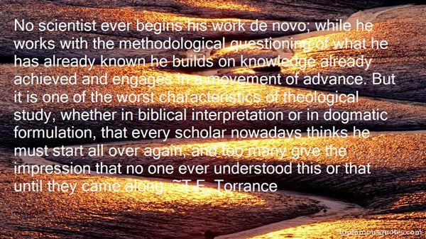 Quotes About Biblical Interpretation